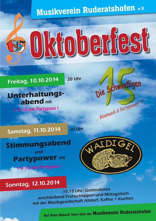 Musikverein Ruderatshofen: Oktoberfest